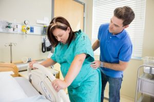 gentle touch in labour